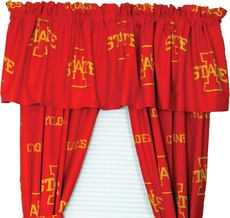 College Covers Iowa State University Curtain Panel 84 Inch