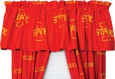 College Covers Iowa State University Curtain Valance
