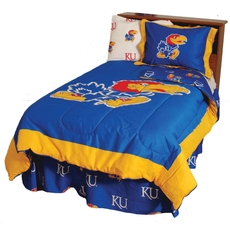 College Covers University of Kansas Comforter Set