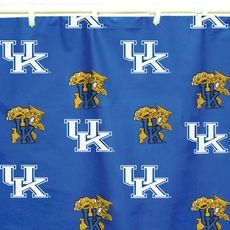 University of Kentucky Printed Shower Curtain by College Covers