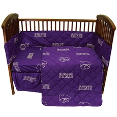 College Covers Kansas State University Crib Set