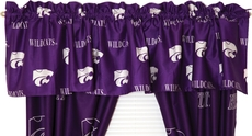 College Covers Kansas State University Curtain Valance