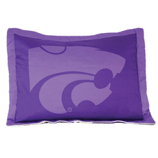 College Covers Kansas State University Quilted Sham