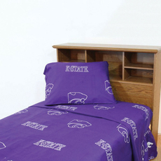 College Covers Kansas State University Sheet Set