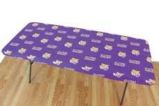College Covers Louisiana State University Tigers 8 Foot Table Cover