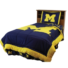 College Covers University of Michigan Reversible Comforter Set