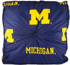 College Covers University of Michigan Floor Pillow