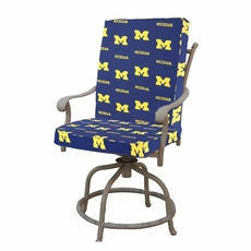 College Covers University of Michigan 2 Piece Chair Cushion