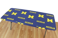 College Covers University of Michigan 6 Foot Table Cover