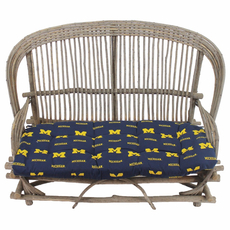 College Covers University of Michigan Settee Cushion