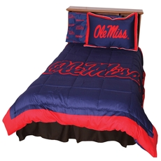 College Covers University of Mississippi Reversible Comforter Set