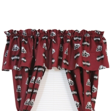 College Covers Mississippi State University Printed Curtain Valance