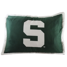 College Covers Michigan State University Quilted Sham