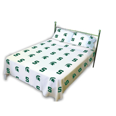 College Covers Michigan State University Sheet Set