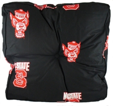 College Covers North Carolina State University Floor Pillow