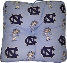 College Covers University of North Carolina Floor Pillow
