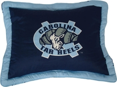College Covers University of North Carolina Quilted Sham