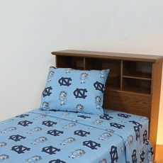 College Covers University of North Carolina Sheet Set