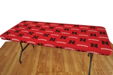 College Covers University of Nebraska 6 Foot Table Cover