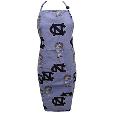 College Covers University of North Carolina Apron with Pocket