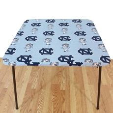 College Covers University of North Carolina Card Table Cover