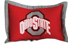 College Covers Ohio State University Quilted Sham