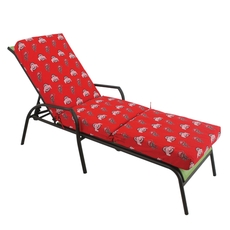 College Covers Ohio State University State 3 Piece Chaise Lounge Cushion