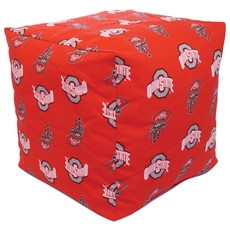 College Covers Ohio State University Cube Cushion