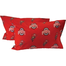 College Covers Ohio State University Pillowcase Pair