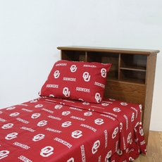 College Covers University of Oklahoma Sheet Set