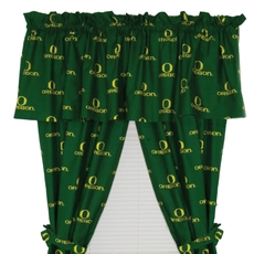 College Covers University of Oregon Printed Curtain Panels 63 Inches