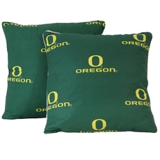 College Covers University of Oregon Decorative Pillow Set of 2