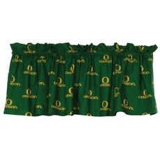 College Covers University of Oregon Printed Curtain Valance
