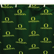 University of Oregon Printed Shower Curtain by College Covers