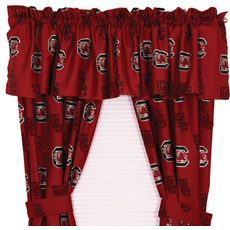 College Covers University of South Carolina Curtain Panel 63 Inch