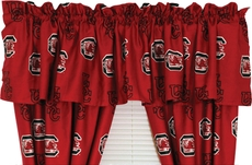 College Covers University of South Carolina Curtain Valance