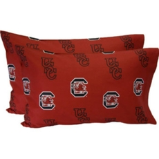 College Covers University of South Carolina King Pillowcase Pair