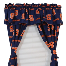 College Covers Syracuse University Printed Curtain Panels