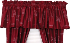 College Covers Texas A&M University Curtain Valance