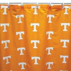 University of Tennessee Printed Shower Curtain by College Covers
