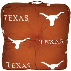 College Covers University of Texas Floor Pillow