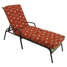 College Covers University of Texas Longhorns 3 Piece Chaise Lounge Cushion