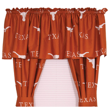 College Covers University of Texas Printed Curtain Panels 63 Inches