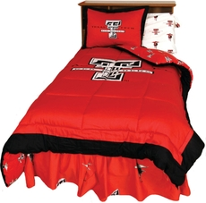 College Covers Texas Tech University Comforter Set
