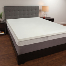 1.5 Inch Memory Foam Mattress Topper by Comfort Revolution