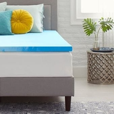 2 Inch Memory Foam Mattress Topper by Comfort Revolution