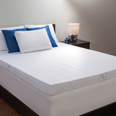 4 Inch Hybrid Memory Spring Mattress Topper by Comfort Revolution