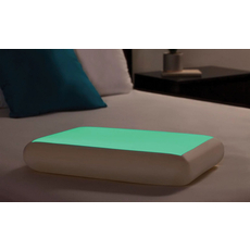 Glow in the Dark Gel Memory Foam Bed Pillow by Comfort Revolution