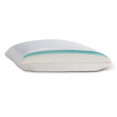 Fiber Cooling Gel Memory Foam Bed Pillow by Comfort Revolution