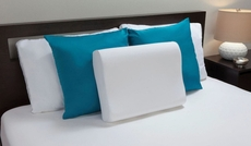 Molded Memory Foam Contour Pillow by Comfort Revolution